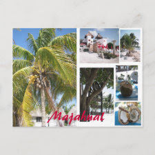 Majahual postcard