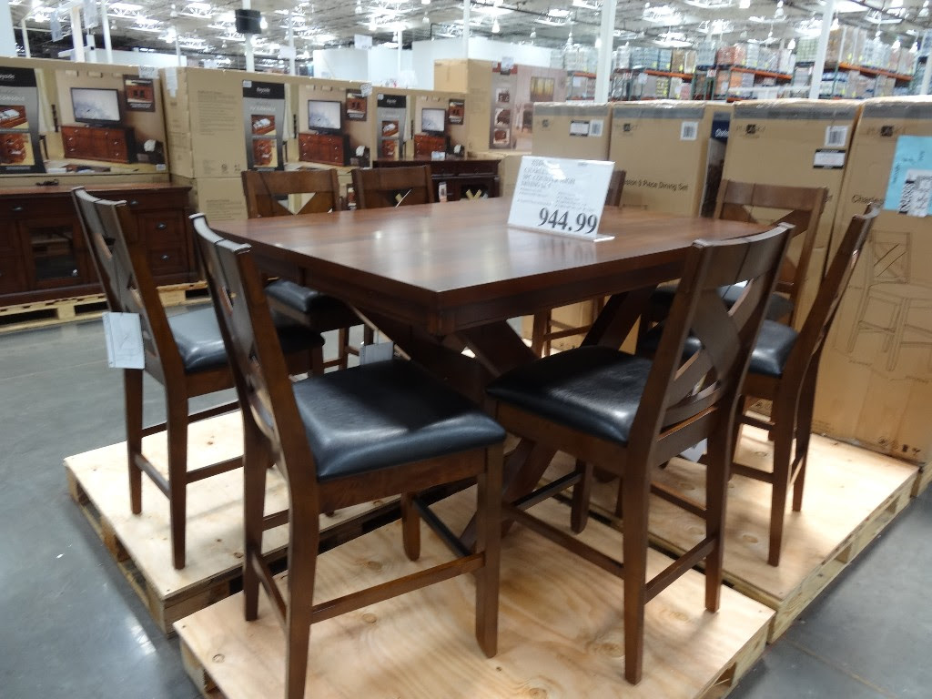 Charleston 9Piece Counter Height Dining Set