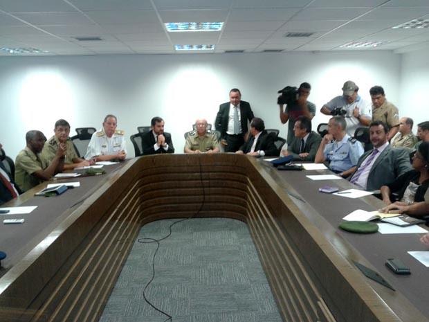 Reunião aconteceu na tarde desta quarta-feira (29), em Natal. (Foto: Fernanda Zauli/G1)