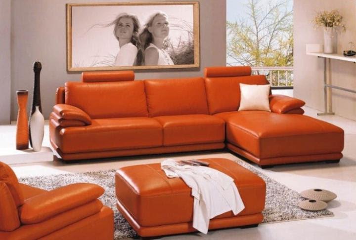 Color naranja para estimular la decoración