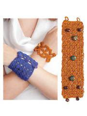 Crochet Bracelet Cuffs Pattern