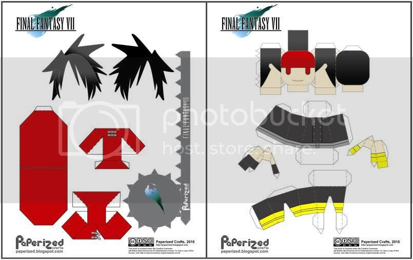 photo Final Fantasy VII - Vincent Papercraft via papermau 02_zpswr1onj5q.jpg
