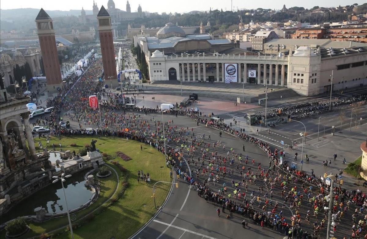 Dominio africano en el maratón de Barcelona 2017