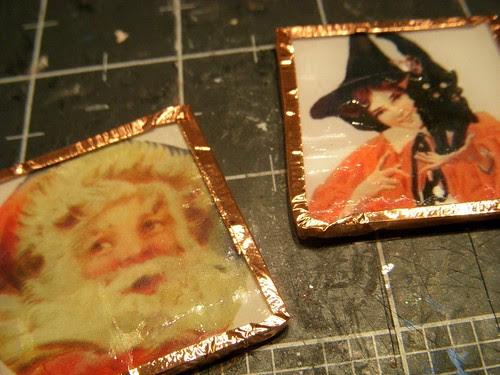 Halloween and Christmas Pendants Side B