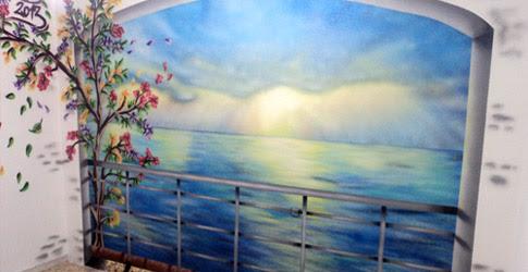 Graffiti Murales De Paisajes