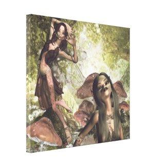 Pixie Magic Gallery Wrap Canvas