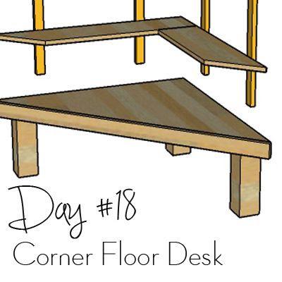 http://www.morelikehome.net/2017/10/diy-desk-series-18-corner-floor-desk-w.html