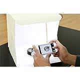 Foldio 折り畳み式のスタジオ ポータブルライトボックス スマートフォン写真のために デュアルLED(Foldio Foldable Studio Portable Light Box for Smartphone Photography Dual LED)