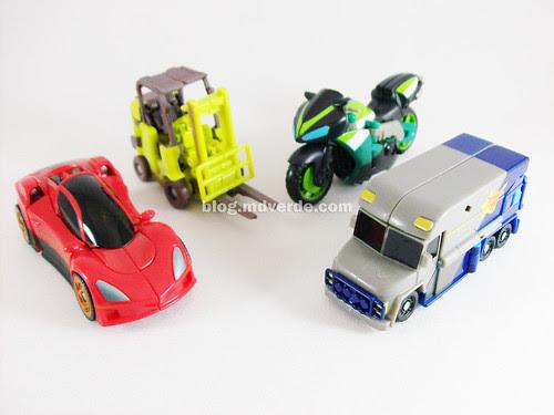 Transformers Scouts RotF - modo alterno