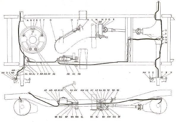 Willys Jeep Parts Diagrams Illustrations Midwest Jeep Willys