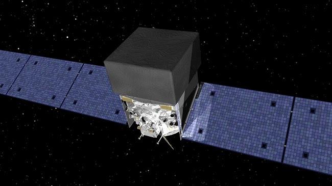 Το διαστημικό τηλεσκόπιο Fermi (καλλιτεχνική απεικόνιση)