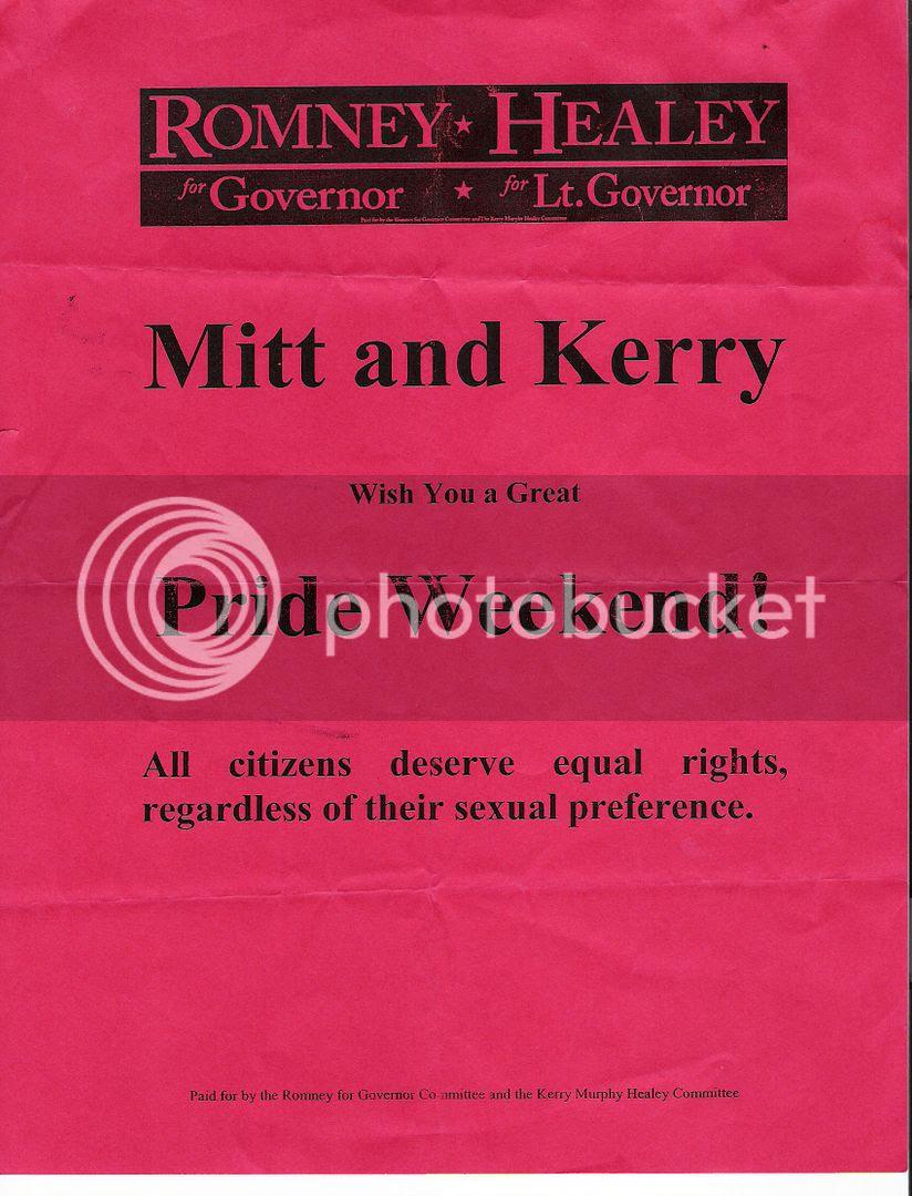 Romney Gay Pride