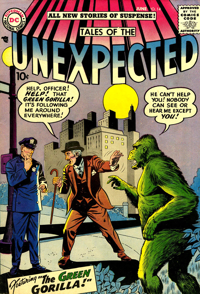 Tales of the Unexpected #14 (DC, 1957) Sheldon Moldoff cover