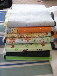 My First Quilting Bee Fabric Choices