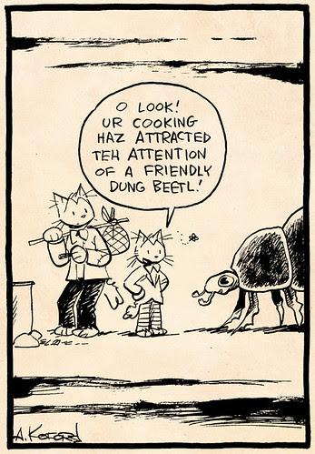 Laugh-Out-Loud Cats #2318 by Ape Lad