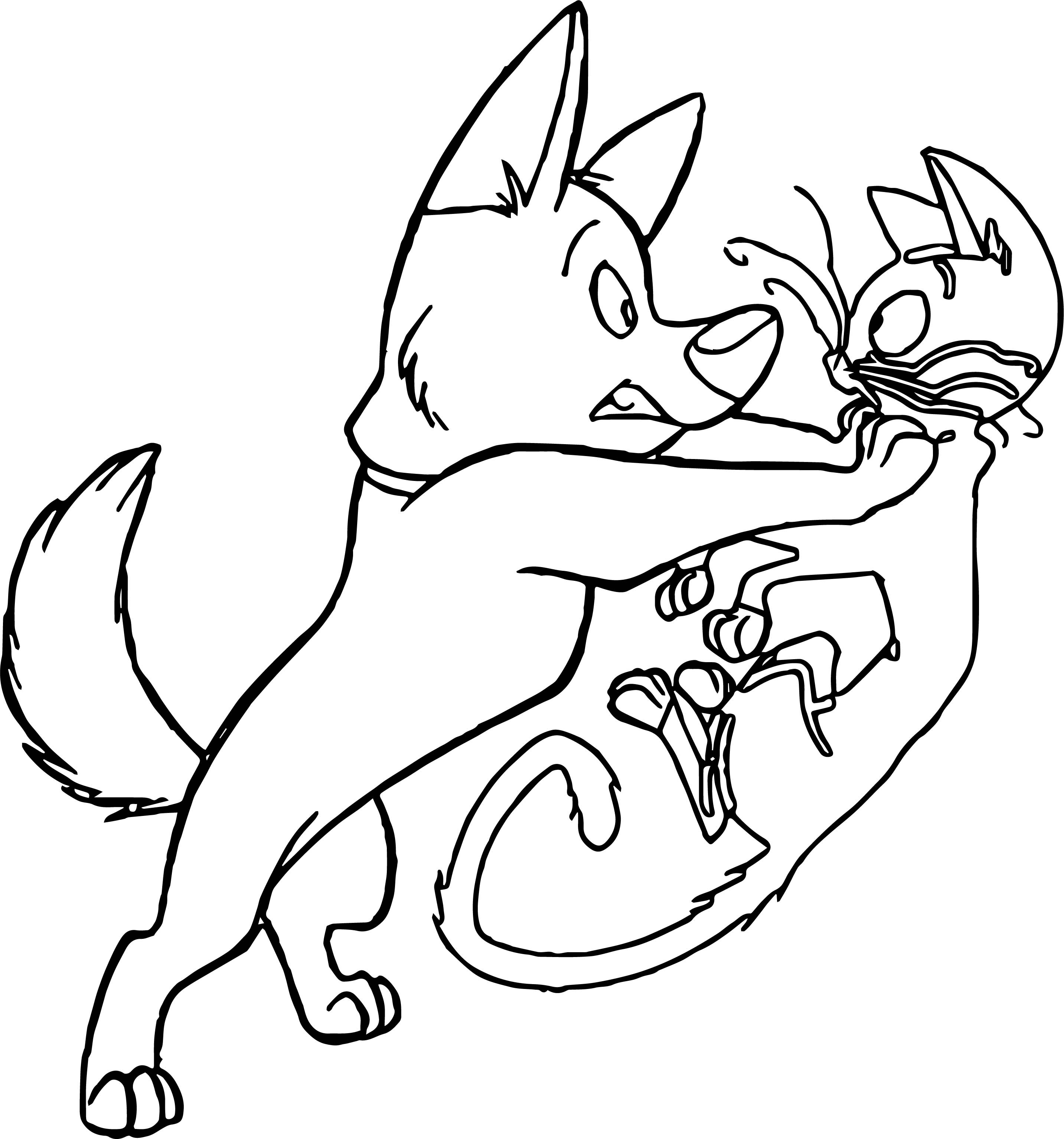 Bolt Dog Cat Where Coloring Pages | Wecoloringpage.com