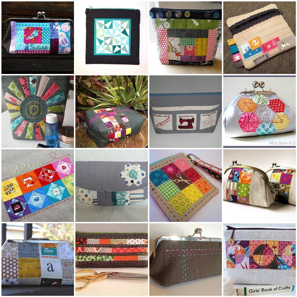 Pretty {little} pouch mosaic