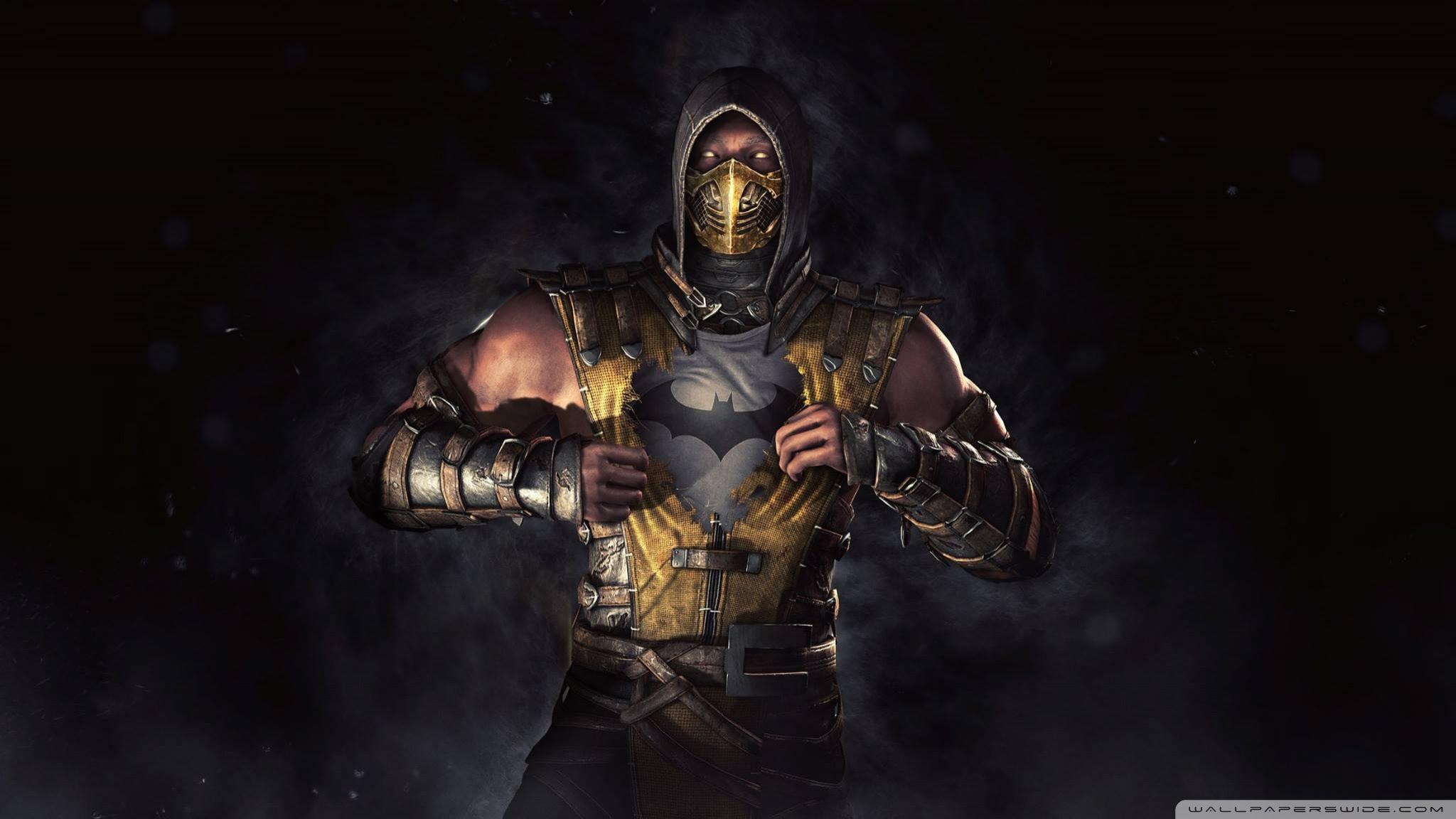 Mortal Kombat X Batman Ultra Hd Desktop Background Wallpaper For