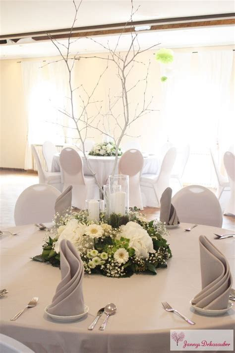 Wedding Decor Table Decoration White Tree Trunk Branches