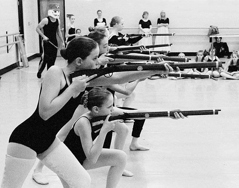 Ballet girls shooting