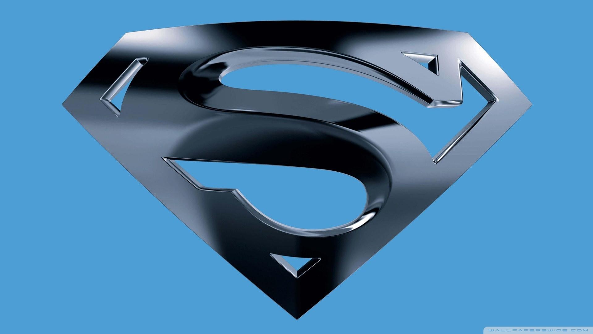 Black Superman Logo Wallpaper (68+ images)