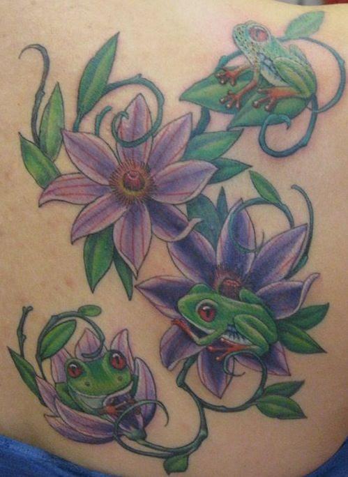 Frogs Family Tattoo Tattoomagz