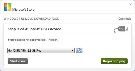 طريقة انشاء نسخة ويندوز 7 محمولة على فلاش ميموري