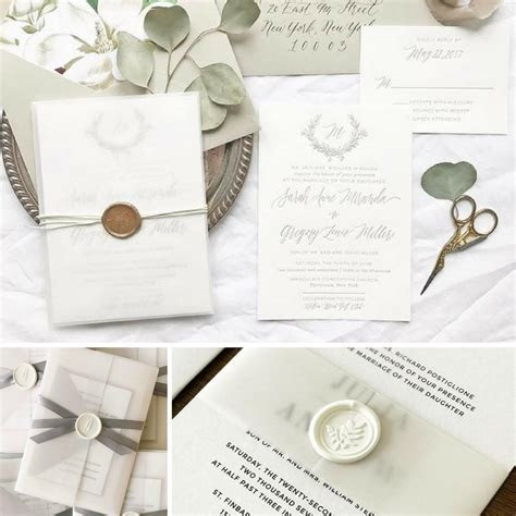 Top 5 Wax Seal Trends For Your Wedding by Ashley M