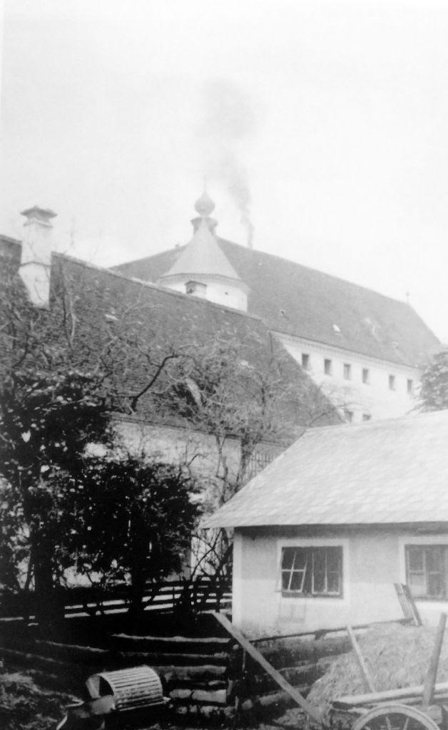 Το Ιδρυμα του Χάρτχαϊμ σε φωτογραφία της εποχής του Πολέμου.