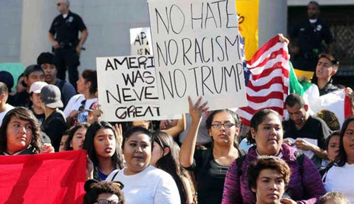 """ONU exhorta al Gobierno de EE. UU. a rechazar """"inequívoca e incondicionalmente"""" las expresiones de odio y racismo. Foto: archivo EFE"""