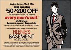 Filenes March deal