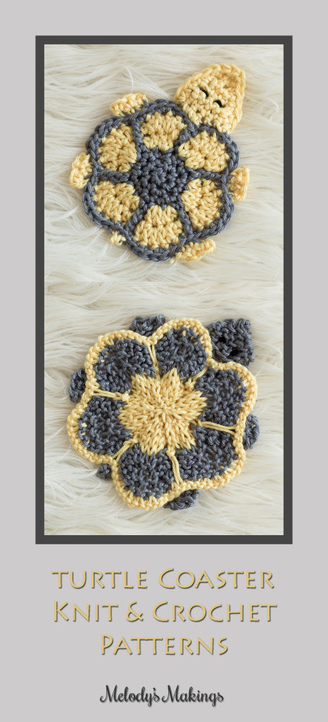 Turtle Coaster Knit & Crochet Patterns