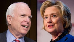 Related story: Clinton-McCain friendship blossoms (again)
