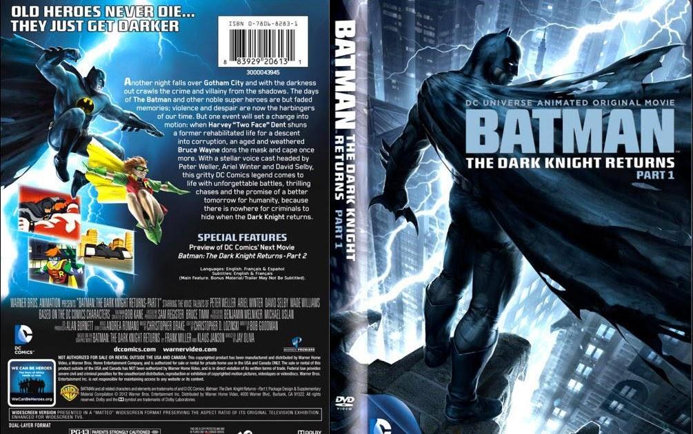 Fichas De Superheroes Marvel Y Dc Pelicula Batman El Regreso Del Caballero Oscuro Bilogia Castellano