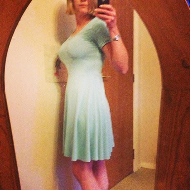 Side view #biggirlskaterdress #isew