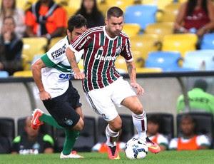 Rafael Sobis, Fluminense e Coritiba (Foto: Matheus Andrade / Photocamera)