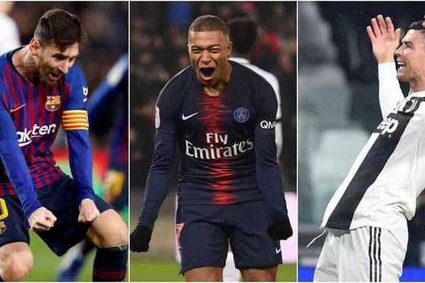 7352d73d458e Messi, Mbappe and Cristiano Ronaldo in line for the Golden Shoe