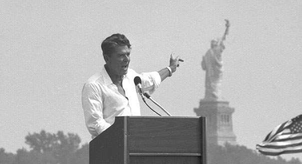 Pro-Labor Reagan Speech Campaign 1980