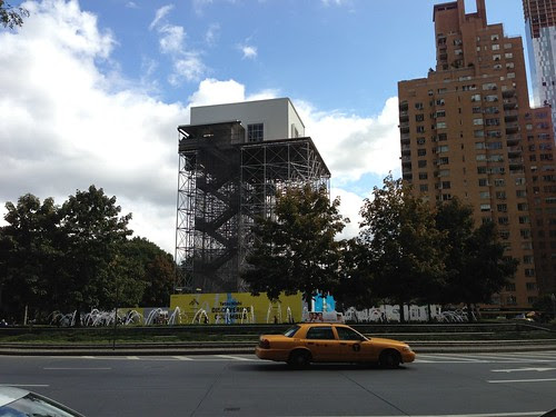 The Discovering Columbus tower