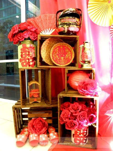 Chinese Oriental Wedding Decoration at SJK(C) Chung Kwo