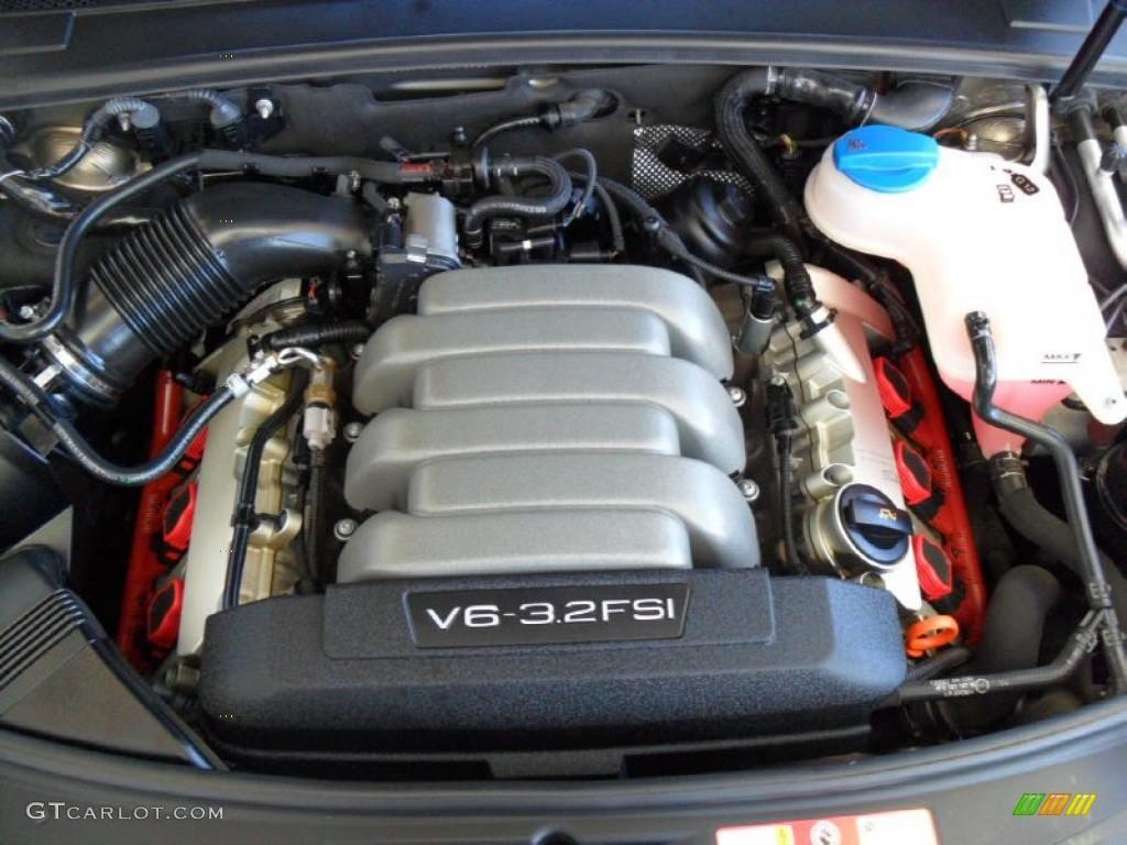 2006 Audi A6 32 Quattro Engine