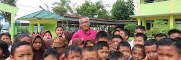 Walikota Tarakan Melakukan Peninjauan ke SDN 024 Kampung Bugis