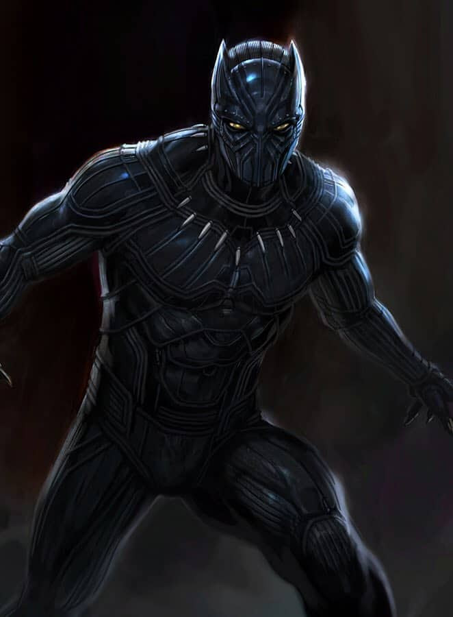 Concept Art Reveals BLACK PANTHER Almost Had A Much ...