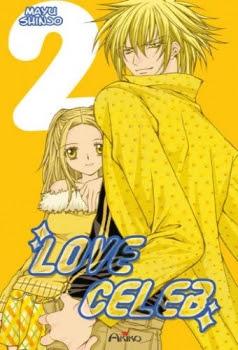 Couverture Love Celeb, tome 2