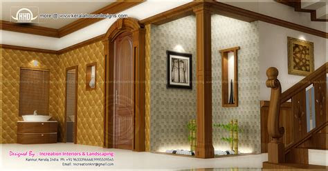 house interior ideas   rendering kerala home design