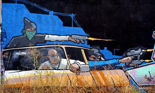 paseo por la afueras de Valdemoro: grafiti