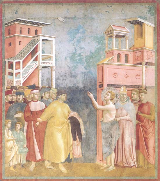 Resultado de imagen de giotto san francisco de asis