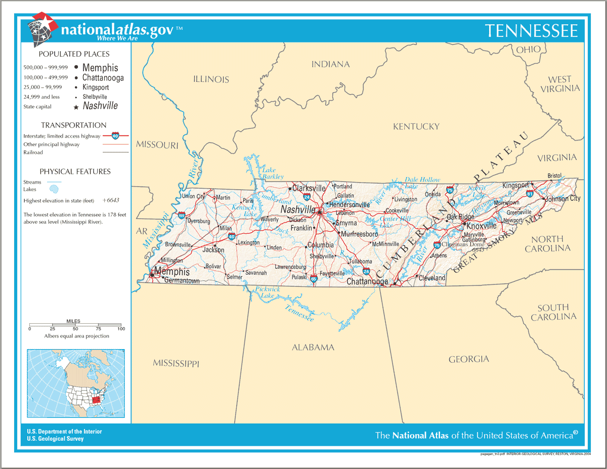 Us Time Zone Map Tennessee | Campus Map