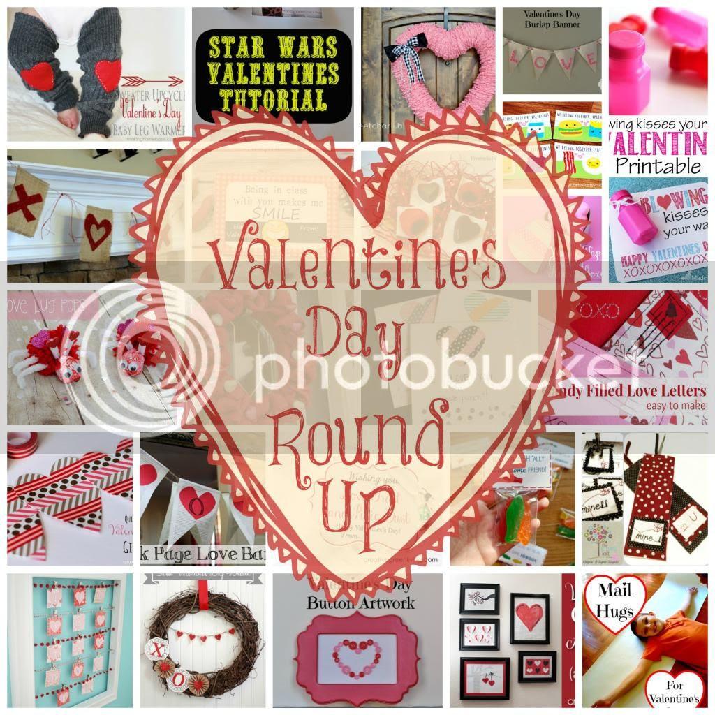 #Valentine'sDay #Crafting #RoundUp @mvemother