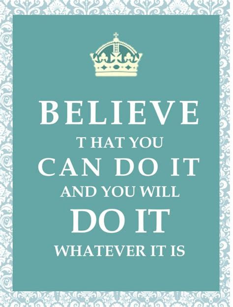 U Can Do It Quotes